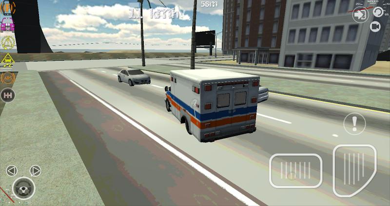 Скриншот Ambulance Truck Driver 3D