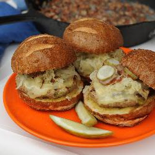 German Reuben Cuban Pork Burger Recipes.