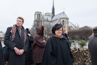 Photo: In front of the best known Notre Dame
