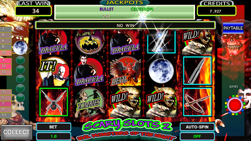 Evil Monster Scary Slots2 Free