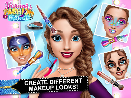 Hannahu2019s Fashion World - Dress Up & Makeup Salon  screenshots 10