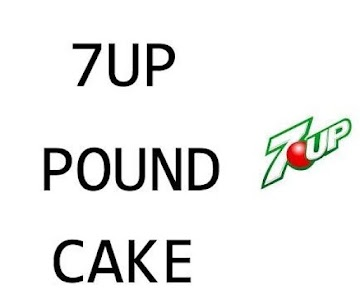 7 Up Poundcake Recipe
