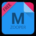MatZooper(Free)- Zooper Widget icon