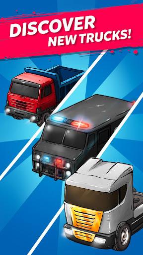 Merge Truck: Grand Truck Evolution Merger game apkmr screenshots 4