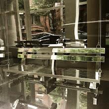 Photo: Glass Bench