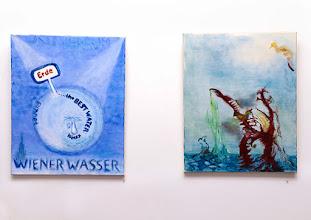 """Photo: AUSSTELLUNG KARIN OSTERTAG & WERNER LIEBHARD - Künstlergruppe """"WOLK"""" Oktober 2015. Foto: Barbara Zeininger"""