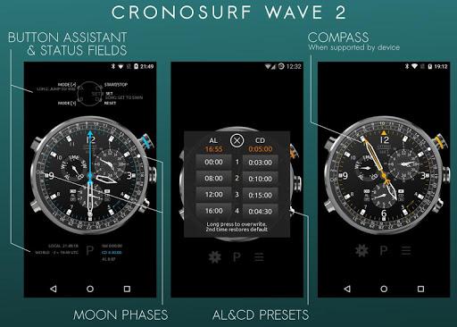 Cronosurf Wave Pro watch screenshot 2