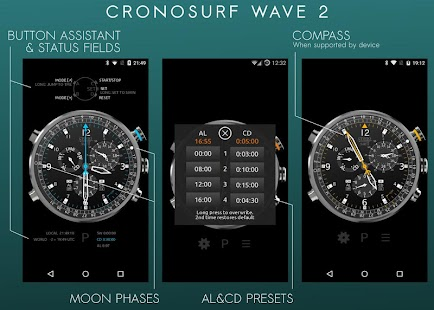 Cronosurf Wave Pro watch- screenshot thumbnail