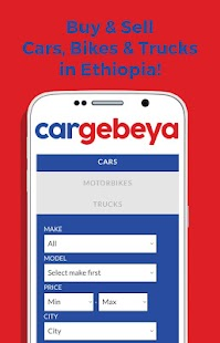 Buy&Sell Cars in Ethiopia- screenshot thumbnail