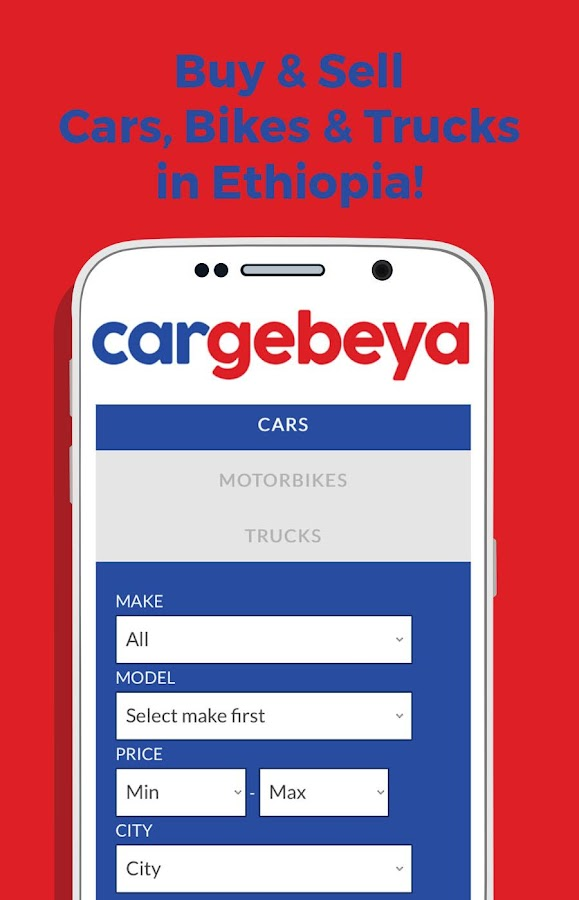 Buy&Sell Cars in Ethiopia- screenshot