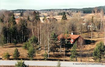 Photo: Dammen vy från Åsbacken 2000