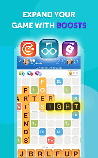 Words With Friends u2013 Word Puzzle apkpoly screenshots 5