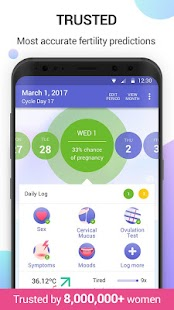 Glow Period & Ovulation Tracker, Fertility App- screenshot thumbnail