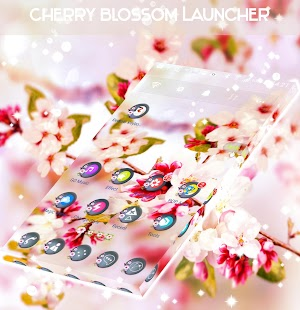 Cherry Blossom Launcher - náhled