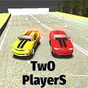 Two Player Racing 3D - 2 Player Car Race icon
