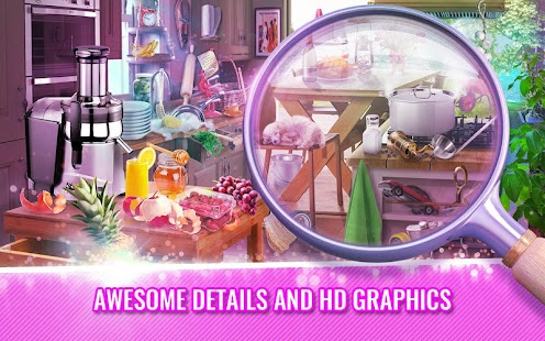 Kitchen Hidden Objects Game – House Cleaning
