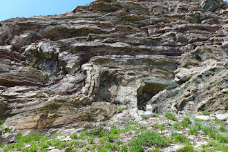 Photo: Folded Rock Layers