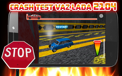 Crash Test VAZ LADA 2104