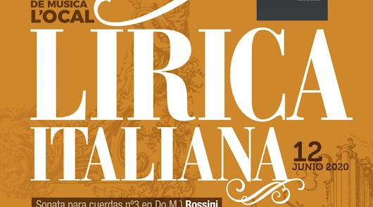 La OCAL propone un viernes musical de la mano de la lírica italiana