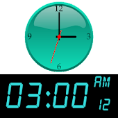 Easy Clock & Widget Free