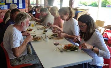 Photo: Workparty lunch reward
