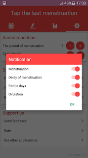 Period Tracker and Ovulation Calendar 2018