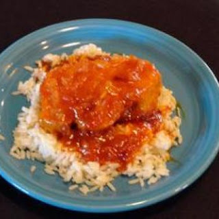 Sweet and Sour Pork Chops.