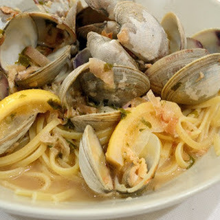 Linguine with Clams in a Lemon-Butter Broth