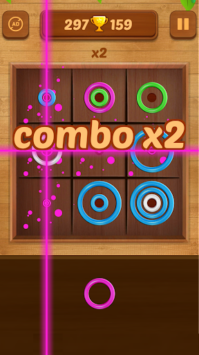 Color Rings - Colorful Puzzle Game 2.8 screenshots 2