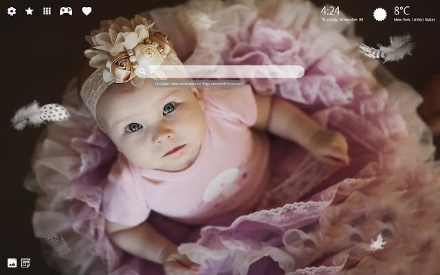 Cute Baby Girl HD Backgrounds