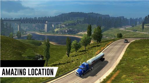 Truck Game Simulator - Oil Tanker Transporter 1.5 screenshots 2
