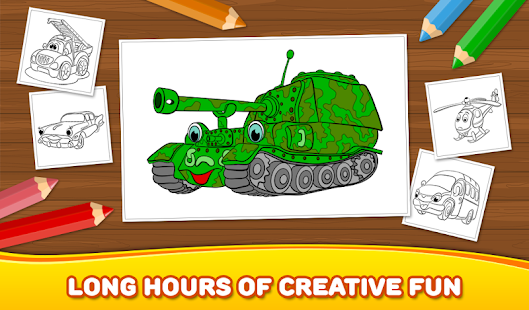 Free Boys Coloring Book: Cars - Android Apps on Google Play