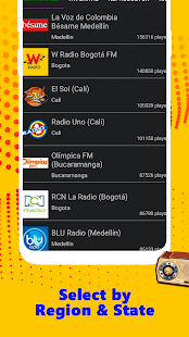 Radio Colombia: Emisoras en Vivo Gratis for PC-Windows 7,8,10 and Mac apk screenshot 6