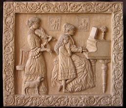 Photo: Velada musical. Tamaño: 67 x 76 cm. Talla en madera. Woodcarving.  Para leer algo más en relación con esta obra ir al blog: http://tallaenmadera-woodcarving-esculturas.blogspot.com/2011/07/velada-musical.html