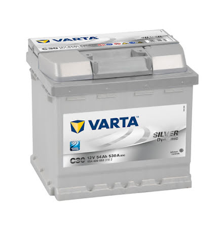 Startbatteri Varta C30 54Ah Silver Dynamic