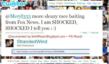Photo: http://twitter.com/StrandedWind/status/25441098998 Rauhauser's hypoccrisy knows no boundries!