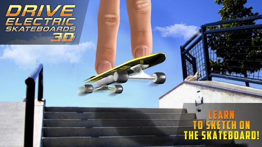 Drive Electric Skateboard 3DSimulator in City 1.0 screenshots 1