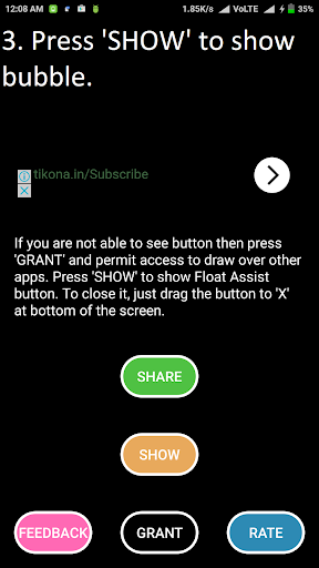 Float Assist Voice Search 1.0 screenshots 3