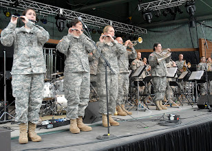 Photo: Members of the 34th Red Bull Infantry Division Band performed at the Minnesota State Fair's Military Appreciation Day Aug. 30, 2011 in St. Paul, Minn.