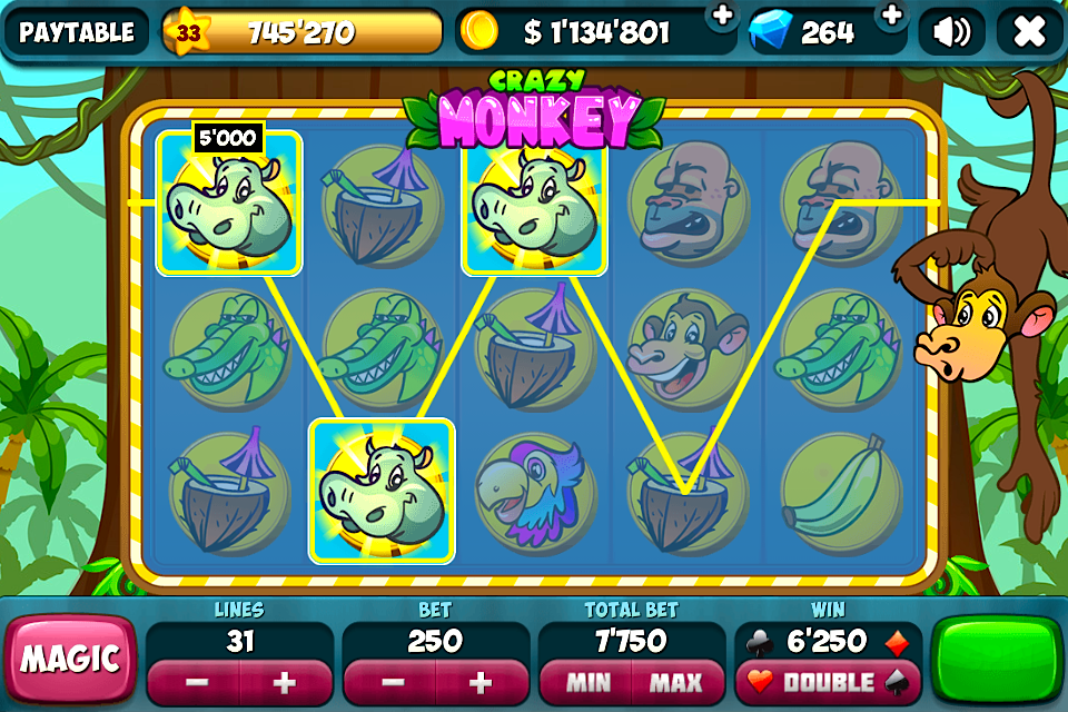 Go Monkey Specialty Casino Game - Play Online for Free Now