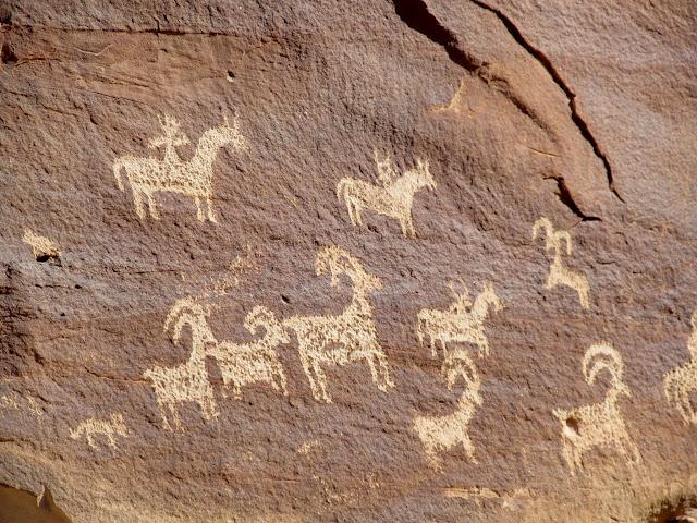Ute petroglyphs
