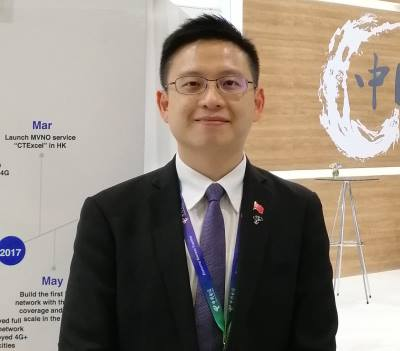 Elson Lee, Deputy Director of China Telecom (Africa and Middle East) Limited.