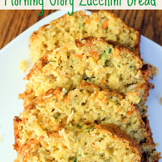 Morning Glory Zucchini Bread