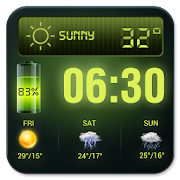 App Weather Forecast Widget with Battery and Clock APK for Windows Phone