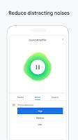 screenshot of Sound Amplifier