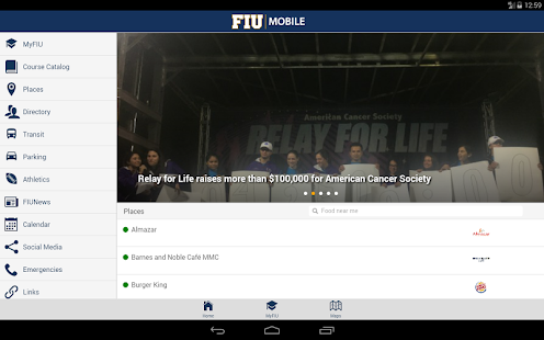 FIU Mobile- screenshot thumbnail