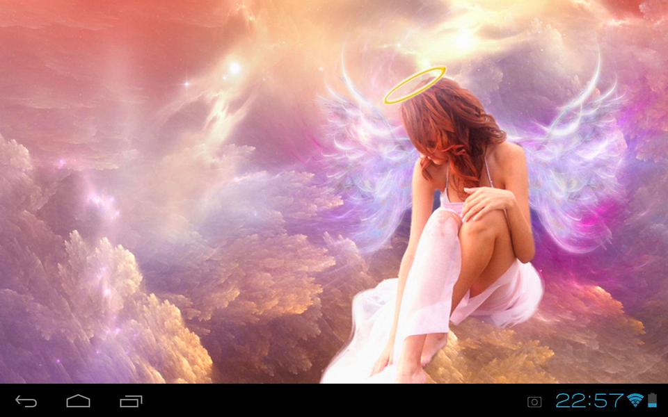 lovely angel live wallpaper android apps on google play