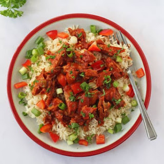 Spicy Tomato Mackerel with Rice Recipe