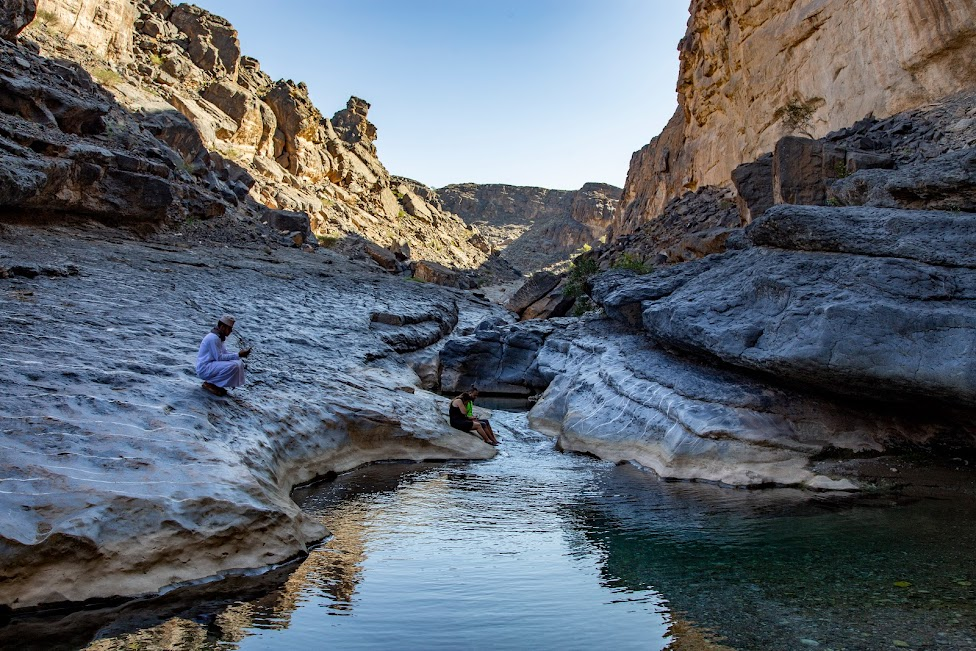 Wadi Damm Pools, Oman