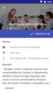 Vagas de empregos screenshot 05
